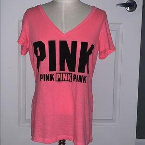 Pink short sleeve t shirt